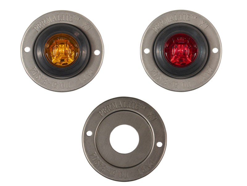 Rated Round Marker-Clearance Light Trim Ring